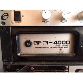 Planta Gemini Gpa 4000 Usada