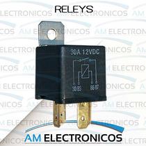 Relevadores Para Auto Releys Alarma Faros Seguros Electricos