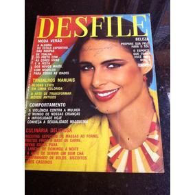 Revista Desfile Silvia Luiza Brunet Mod 9 Paginas Rose Prim