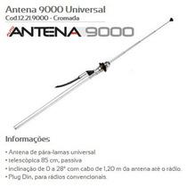 Antena Paralama Olimpus Cromada Chevette Opala Corcel Nova
