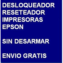 Desbloqueador Reset Impresora Epson Cx8300 Envio X Internet