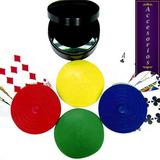 4 Sujetadores Para Cartas Poker, Canasta, Continental, Etc