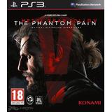 Metal Gear Phantom Pain Digital Ps3
