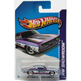 68 Plymouth Barracuda Formula S 240 Hot Wheels 1/64