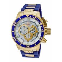 Relógio Invicta Corduba - 10619 Azul Dourado Masculino