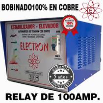 Elevadores De Tension Automatico 20kw Rango 140v Cobre 100%