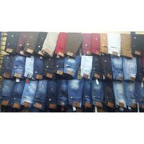 Kit 3 Calça Jeans Masculina Marcas Famosas