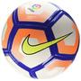 Nike La Liga De Tono Del Balón De Fútbol (blanco / Naranja