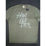Camiseta Hollister Dos Eua Camisa Masculina Original