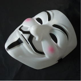 Máscara V De Vingança(v For Vendetta) - Guy Fawkes Anonymous