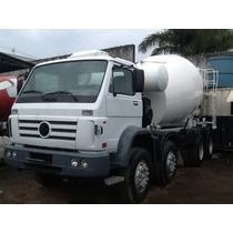 Caminhão Volkswagem Betoneira De Concreto Usada 4* Eixos