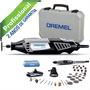 Micro Retífica Dremel 4000 Kit 39 Acessórios + Maleta 110v