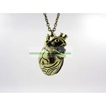Collar Corazón Real, Detallado, Tridimencional. Envio Gratis