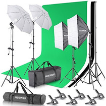Kit Luces Estudio De Fotografia Neewer® 2.6m X 3 M/8.5 Ft