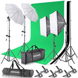 Kit Estudio Para Fotografia Y Video Neewer 2.6 X 3m Original