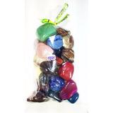 Coleção 30 Pedras Preciosas Brasileiras Polidas/roladas