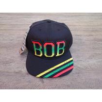Boné Bob Marley Black Alma Aba Reta Exclusivo Snapback!