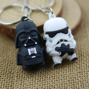 Chaveiro Guerra Nas Estrelas Clássico Darth Vader 2 Bonecos