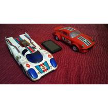 Tres Autos Vintage 70s 80s A Bateria/pilas! Muy Buen Estado!