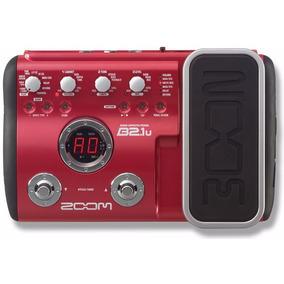 B2.1u Pedaleira Zoom P/ Baixo B2 Usb C/ Pedal De Expressão