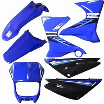 Kit Carenagem Plasticos Adesivado Yamaha Xtz 125 2006 A 2008