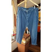 Jeans Capri Xl, Marca Portsaid, Impecable, T Xl (48-50)