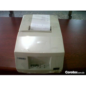 Impresora Epson 325 Punto De Ventas Para Bancas Y Negocios