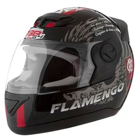 Capacete Moto Pro Tork Personalizado Flamengo Evolution 4g