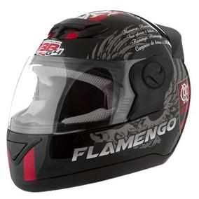 Capacete Moto Protork Personalizado Flamengo 58 Frete Gratis