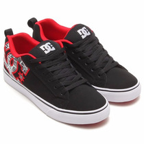 Dc Shoes Tenis Casuales Skate Court Vulc Se