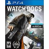 Watch Dogs Ps4 Nuevo Original Domicilio