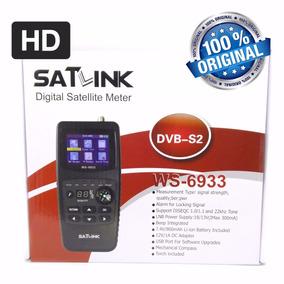 Localizador Satlink Ws-6933 Dvb-s2 Hd - Serial A - Original