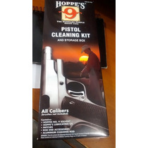 Kit De Limpieza Pistola Hoppes 9 Caceria Lubricante 1911 9mm