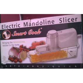 Mandolina Rebanadora Electrica Smart Cook 2869 87.75 Xavi