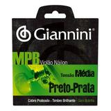 Encordoamento Giannini Para Violão Serie Mpb Náilon Médio
