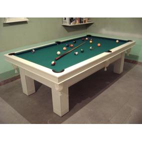Mesa De Pool Nueva Laqueada Liquido Julio!!!
