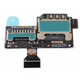 Conector Sim Card Chip Galaxy S4 Mini I9192 I9195 I9190