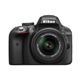 Nikon D3300 24.2 Mp Cmos Slr Af-s Dx Nikkor 18-55mm Zoom