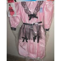 Disfraz Dama Antigua Rosa Claro