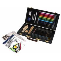 Estuche Profesional Lapices De Colores Para Dibujar