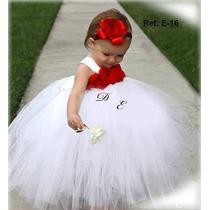 Vestidos De Niñas Elegante Para Bautizo,pajecitas Y Fiestas