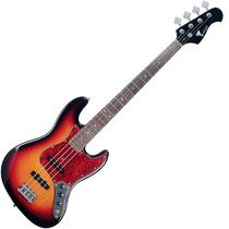Contrabaixo Eagle Sjb006 Jazz Bass 4 Cordas Sb Sunburst