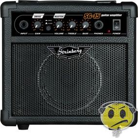 Cubo Amplificador Guitarra Strinberg Sg15 - Loja Kadu Som