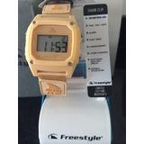 Reloj Freestyle Shark Clip Night Vision En Color Crema
