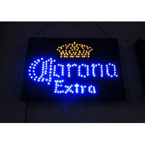 Anuncio Luminoso De Led De Colección Corona Extra