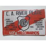 Antigua Bandera Banderin River Plate 36x22 Cm
