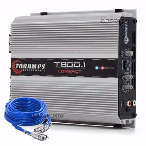 Módulo Amplificador Taramps T800.1 2 Ohms 1 Canal T800 Wrms