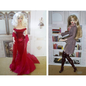 ** Cenário Para Barbie, Fashion Royalty, Pullip E Susie