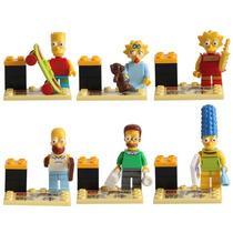 Bonecos Compatível Lego Simpsons Coleção - 6 Personagens