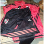 Conjunto River Adidas 2016 Buzo Con Cierre. Pantalon Chupin